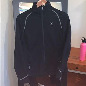 Women's fitted athletic jacket